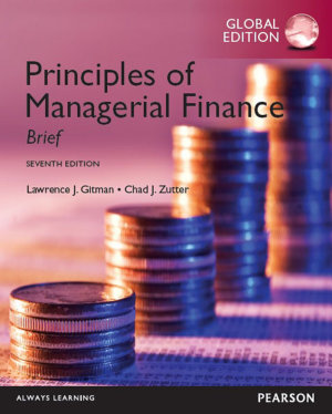 Principles of Managerial Finance  Brief  1 download  PDF eBook  Global Edition