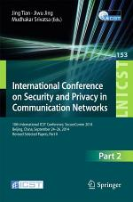 International Conference on Security and Privacy in Communication Networks