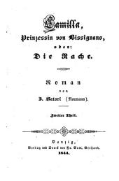 Camilla, Prinzessin von Bissignano: oder, Die Rache ; Roman, Band 2