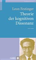 Theorie der kognitiven Dissonanz PDF