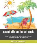 Beach Life Dot to Dot Book