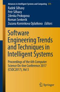 Software Engineering Trends and Techniques in Intelligent Systems PDF