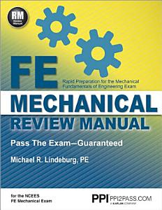 FE Mechanical Review Manual Book