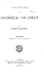 Youth of Frederick the Great