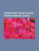 Songs Written by Steve Robson PDF