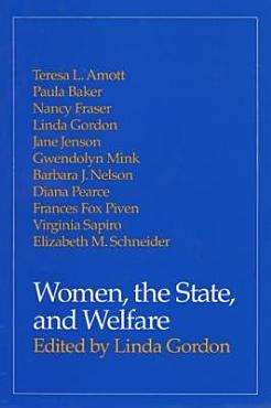 Women  the State  and Welfare PDF