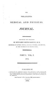 Barton's Medical Journal: Volume 1