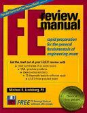 FE Review Manual PDF