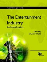 The Entertainment Industry PDF