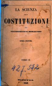 La scienza delle Costituzioni