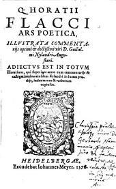Q. Horatii Flacci Ars Poetica