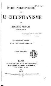 Études philosophiques sur le christianisme