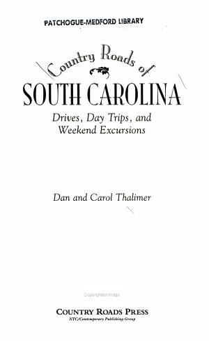 Country Roads of South Carolina