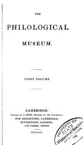 The philological museum: Volume 2