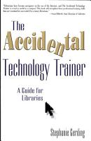 The Accidental Technology Trainer PDF