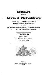 Raccolta Delle Leggi E Disposizioni Di Pubblica Amministrazione Nello Stato Pontificio: Volume 2