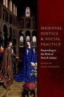 Medieval Poetics and Social Practice