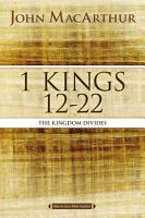 1 Kings 12 to 22 PDF