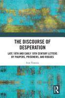 The Discourse of Desperation PDF