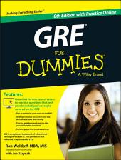 GRE For Dummies: with Online Practice Tests, Edition 8