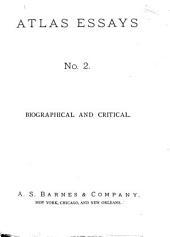 Men of Mark: Bryant, Longfellow, Poe, Turner, Macaulay, Freeman, Curtius, Tichnor [!] Sumner, Mill