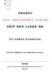 Deutsches Lesebuch: Band 2
