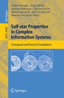 Self star Properties in Complex Information Systems PDF
