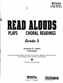 Read Alouds PDF