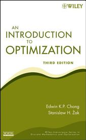 An Introduction to Optimization: Edition 3