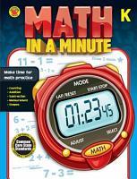 Math in a Minute  Grade K PDF