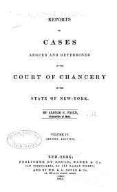 Reports of Cases Argued and Determined in the Court of Chancery of the State of New York [1828-1845]: Volume 12
