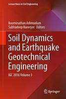 Soil Dynamics and Earthquake Geotechnical Engineering PDF