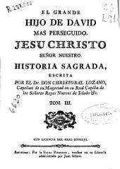 El grande Hijo de David mas perseguido, Jesu Christo...: historia sagrada
