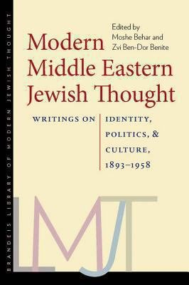 Modern Middle Eastern Jewish Thought PDF