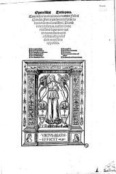 Opera felini Tertia pars. Commentaria admiranda domini Felini Sandei Ferrariensis... super toto quinto decretalium cum additionibus eiusdem nouissime appositis...