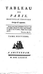 Tableau De Paris: Volume6