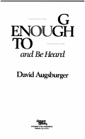 Caring Enough to Hear and be Heard PDF