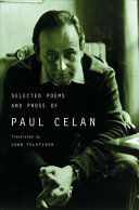 Selected Poems and Prose of Paul Celan