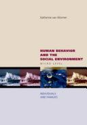 Human Behavior and the Social Environment  Micro Level PDF