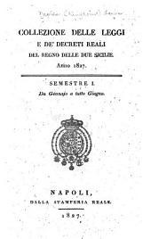 Collezione delle leggi e de'decreti reali del regno delle Due Sicilie: Parte 1