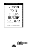 Keys to Your Child s Healthy Sexuality PDF