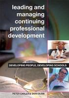 Leading and Managing Continuing Professional Development PDF