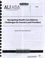 Navigating Health Care Reform PDF