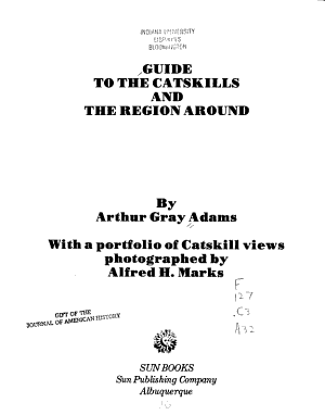 Guide to the Catskills and the Region Around PDF