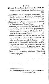 Annales des voyages de la géographie de l'histoire: ou, Collection des voyages nouveaux les plus estimés, traduit de toutes les langues européenes, Volume9