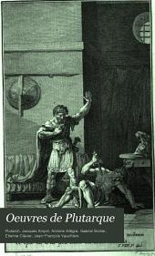 Oeuvres de Plutarque: Volume13
