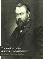 Transactions of the American Pediatric Society: Volume 17