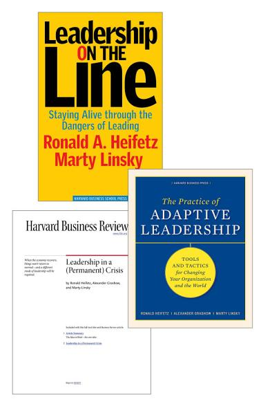 Download Adaptive Leadership  The Heifetz Collection  3 Items  Book