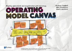 Operating Model Canvas Book