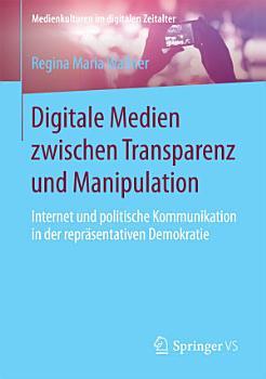 Digitale Medien zwischen Transparenz und Manipulation PDF